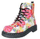 T.U.K. Anarchic PARROT TROPICAL Papagei 7-Eye BOOTS Stiefel Rockabilly