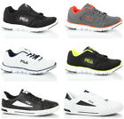 Mens boys casual lace up running gym sports leather mesh trainers shoes size