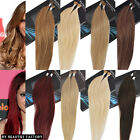 Beauties Factory i-tip (Stick-Tip) Straight Remy Human Hair Extension 20 inch