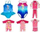 Girls Swimwear Swimsuits Tankini Frozen Princess Elsa Anna UV Sunsuit Protection