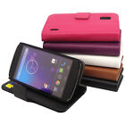 For Google LG Nexus 4 E960 Wallet Leather Case Pocket Card Cover -n2