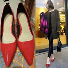 Womens Pointy Toe High Cuban Heel Sexy Party Princess Fashion New Pumps Shoes