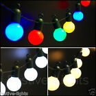4.75M 20 LED FESTOON GLOBE FAIRY STRING LIGHTS OUTDOOR GARDEN CHRISTMAS PARTY