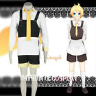 Vocaloid Alice Human Sacrifice Kagamine Len Cosplay Costume Full Set FREE P&P