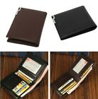 Fashion Men's Leather Wallets Retro Style Credit Card Coin Holder Purse Bags LA