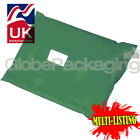 STRONG OLIVE GREEN POSTAL PLASTIC POSTAGE MAILING BAGS MAILERS *ALL SIZES/QTY'S*