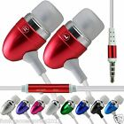 Stereo Sound In Ear Hands Free Headset Head Phones+Mic✔Vodafone Smart first 6