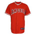 LA Angels Replica MLB Alternate Scarlet Jersey