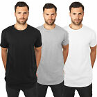 Urban Classics Shaped Herren Long Tee T-Shirt Top Lang Rundhals TB638