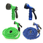 2 Colors 25FT Expandable Hose For Garden Retractable Water Pipe Lightweight