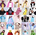 Hot Kigurumi Pajamas Animal Cosplay Costume Unisex Adult Kids Onesie Sleepwear