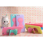 3D Adorable Bowtie TPU Soft Stand Holder Case Cover For Apple Iphone Samsung