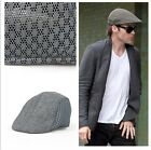 Fashion Men's Breathable Mesh Opening Outdoor Golf Baker Racing Hat Flat Caps LA