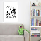 Don Quixote Pablo Picasso Vintage Wall Art Poster Print Picture Giclee Artwork