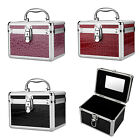 Urbanity Aluminium Cosmetic Make Up Jewelry Box Vanity Jewellery Saloon Case