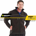 Soft Shell Click Jacket Mens Breathable Windproof Waterproof Work Coat Security
