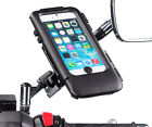 Moped Scooter Mirror V2 Mount + Tough Waterproof Case for Apple iPhone 6 4.7