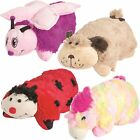 Pet Pillow Kids Animal Soft Cuddly Toy Cushion Cuddle Toy Gift with Velcro