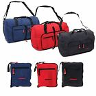 Super Lightweight Cabin Flight Foldaway Nylon Duffle Holdall Luggage Travel Bag