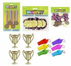 SPORTS/FIELD DAY Awards & Referees' Items - Medals/Trophies/Whistles/Rewards