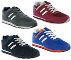 New Mens Casual Joggers Lace Up Sports Trainers Shoes Size 7-15 £25