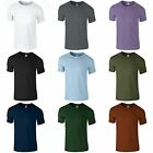 (Free PnP) Gildan Mens Short Sleeve Soft-Style T-Shirt 38 Colours S,M,L,XL,2XL