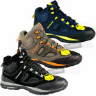 Ankle Boots Mens Steel Toe Cap Leather Work Safety Outdoor Lightweight Shoe Size