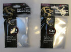 100 BCW Clear Deck Guard Card Protector Sleeves