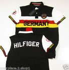 "Tommy Hilfiger Men's ""Germany"" Custom Fit Short Sleeve Country Polo Shirt"