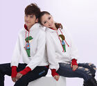Young lovers Kiss gift Couples Hoodie Sweater Thick warm Women Men LWB5079