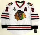 DUNCAN KEITH CHICAGO BLACKHAWKS 2013 STANLEY CUP REEBOK EDGE AUTHENTIC JERSEY