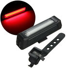 Bicycle Bike Front Rear Tail USB Rechargeable LED Light 6 Modes 100LM