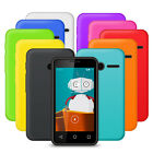10 PACK SILICONE GEL CASE SKIN COVER FOR VODAFONE SMART FIRST 6 BLACK PURPLE RED