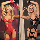 Sexy Women Lingerie Lace Underwear Adult Sex Toy Sleepwear Babydoll G String Hot