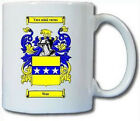WEIR (SCOTTISH) COAT OF ARMS COFFEE MUG