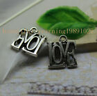 """New product25/75pcs Simple  english big letters """"LOVE"""" personality charm pendant"""