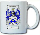 WATSON (ENGLISH) COAT OF ARMS COFFEE MUG