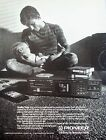 1989 Pioneer CD Player Father Holding Baby Lap Asleep Quality Time ad