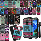 Samsung Galaxy S5 Active G870A Layer Slim Armor TPU Hybrid Hard Case Cover + Pen