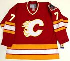 JOE MULLEN CALGARY FLAMES 1989 STANLEY CUP CCM VINTAGE JERSEY NEW WITH TAGS