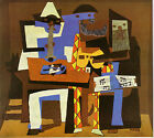 Pablo Picasso Three Musicians Vintage Wall Art Poster Print Picture Giclee
