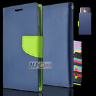 For BLU Studio SERIES Leather PU WALLET POUCH Cover Colors