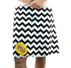 Chevron FSU Seminoles Noles Gameday A Line Striped Sports Women Skirt XS~ XL