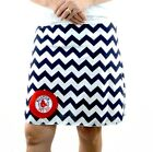 Chevron Boston Red Sox Gameday A Line Striped Yoga Sport Women Skirt XS ~ XL