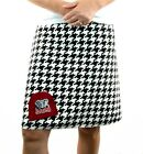 Alabama Roll Tide Houndstooth Plaid Gameday A Line Sport Women Skirt XS~ XL