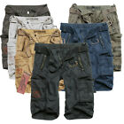 SURPLUS Raw Vintage ROYAL SHORTS Premium Cargo Bermuda Kurze Hose US ARMY SHORT