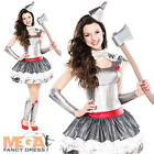 Tin Girl Fancy Dress Fairytale Book Day Week Character Childs Girls Costume New