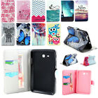 Leather Folio Flip Cover Stand Case For Samsung Galaxy Tab3 Tab4 Tablet 7-10.1