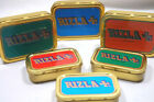 Rizla Tobacco Tin Red Green Blue 1oz  2oz + Free Papers