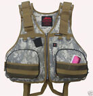 Brand New Adult Fishing Life Jacket Kayak Vest Sailing Device Camouflage Vest